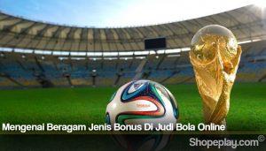 Mengenai Beragam Jenis Bonus Di Judi Bola Online